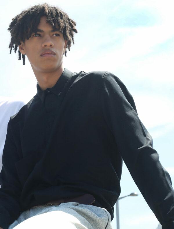 shirt zero black