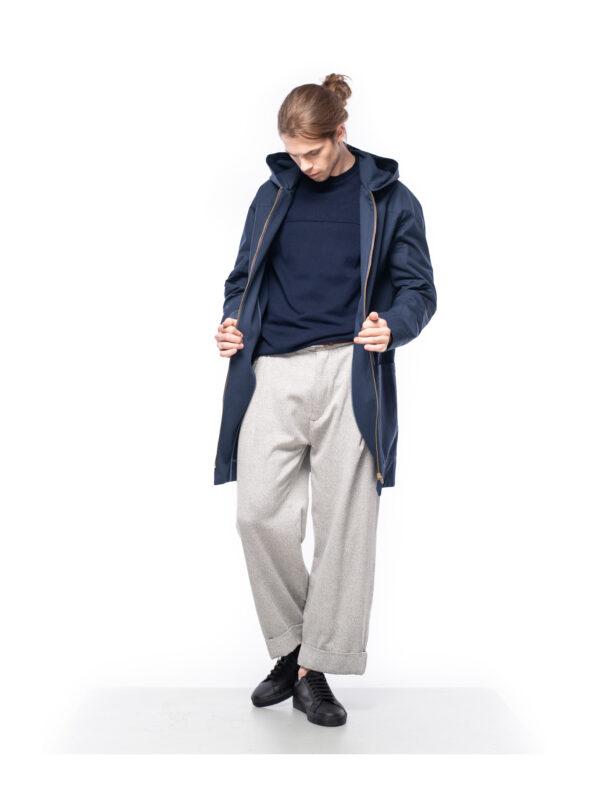 ordinary disorder coat organic cotton