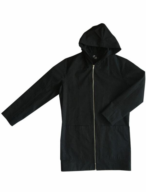 ordinary disorder coat hoodie black