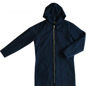 ordinary disorder coat hoodie blue