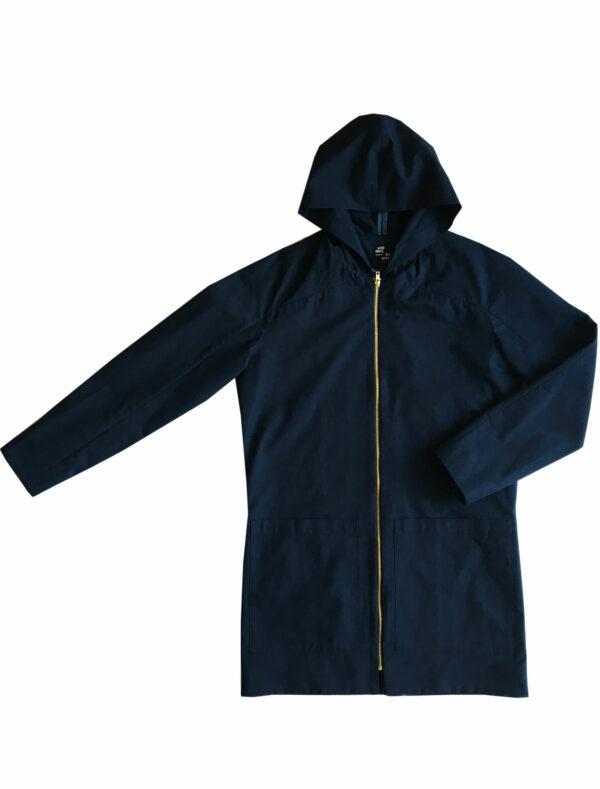 ordinary disorder coat hoodie blue