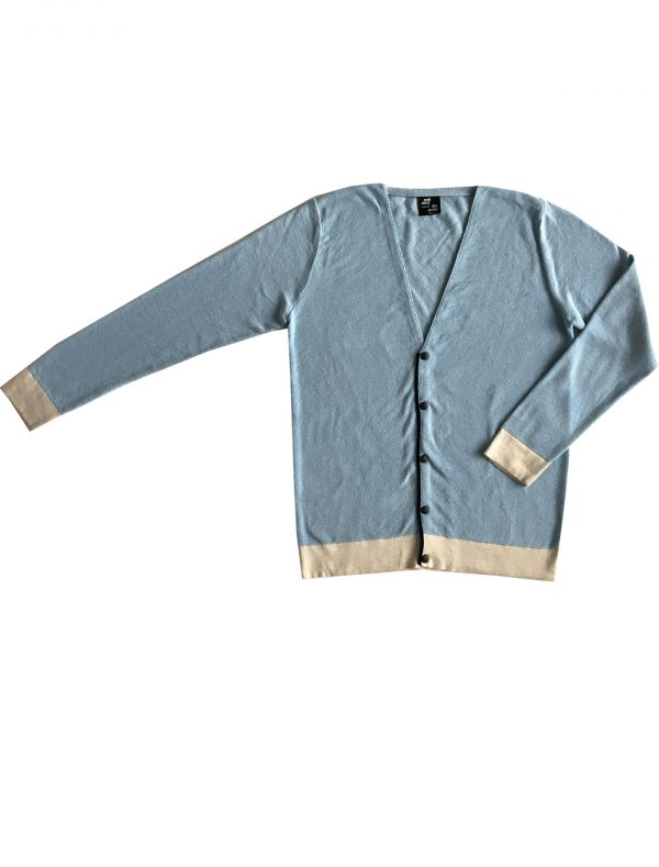 ordinary disorder knitted cardigan sky