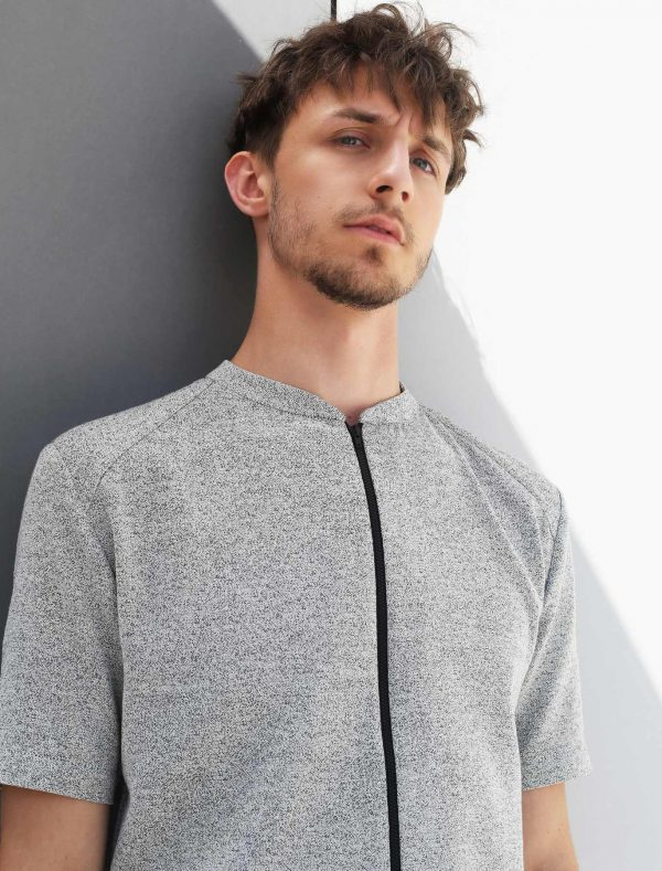 shirt two black-white
