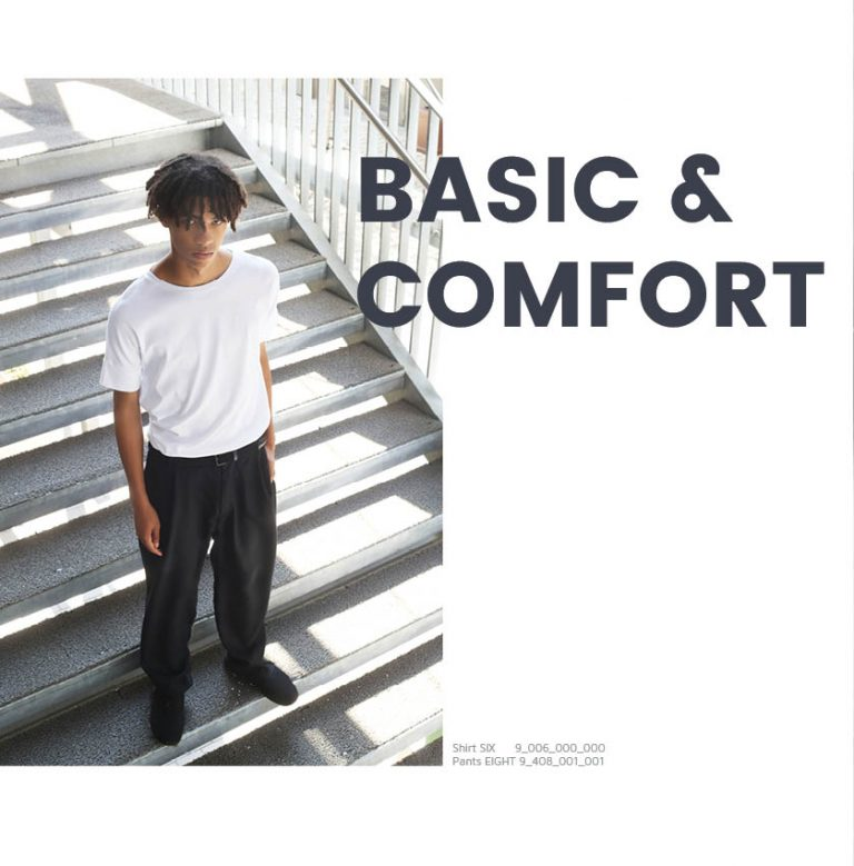 basic- and comfortable styles