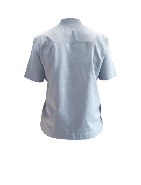 ordinary disorder shirt one back, blue